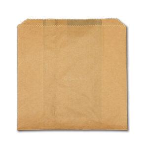 Natural Paper Natural Grease Resistant Bread Bag (1000/cs) 7 x 4 x 12