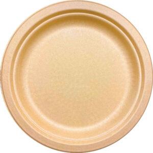 10'' Sugar Cane Natural Kraft Plate (500/CS)