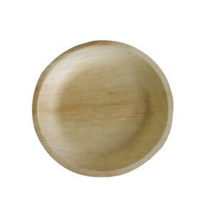 """10"""" Palm Leaf Round Plate"""