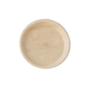 """8"""" Palm Leaf Round Plate"""