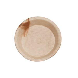 """6"""" Palm Leaf Round Plate"""