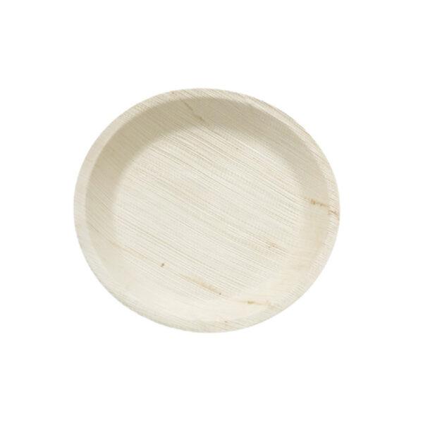 """12"""" Palm Leaf Round Plate"""