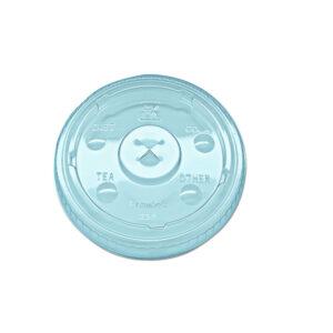 9508215 KAL-CLEAR 9/10OZ APET LID FOR RK9 CUP (2500/CS)