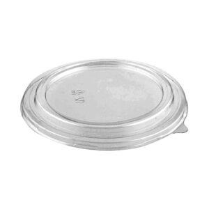 PET Dome Lid for 16, 20, 26, 32oz Round Deli Kraft Paper Container (360/CS)