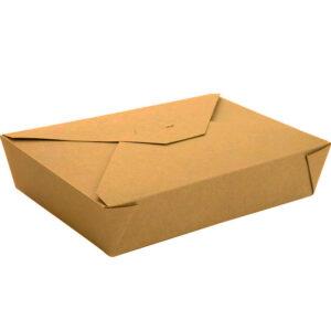 #2 Kraft Paper Takeout Box (200/Case)