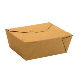 #8 Kraft Paper Takeout Box (300/Case)