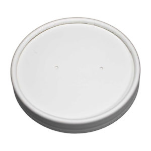 Vented Paper Lid for 16oz Deluxe Paper Food Containers (500/Case)