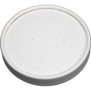 Vented White Paper Lid for 24oz/32oz (250/Case)