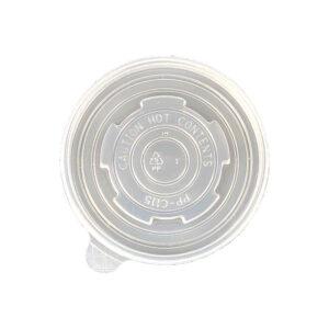 Plastic Vented Lid for 8oz Paper Soup Bowl (1000/Case)