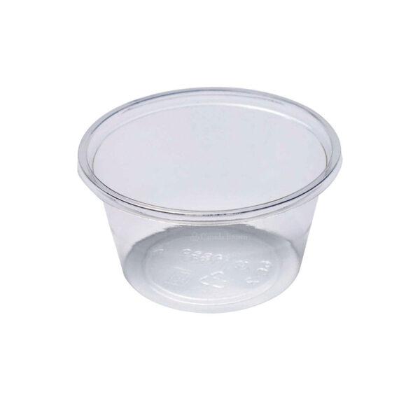 2oz Clear PLA Compostable Portion Cup (2000/CS)