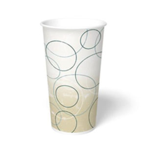 20cdswirl 20oz Paper Cold Drink Cup-Swirl Design (1000/CS)