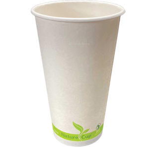 20oz PLA Lined Single Wall Paper Cup
