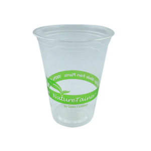 16/18oz (540ml) PLA Compostable Cold Drink Cup