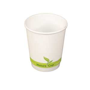 8oz PLA Lined Double Wall Paper Cup