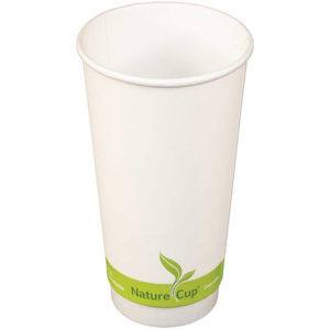 20oz PLA Lined Double Wall Paper Cup