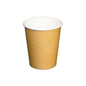 8oz Plain Kraft Paper Cup