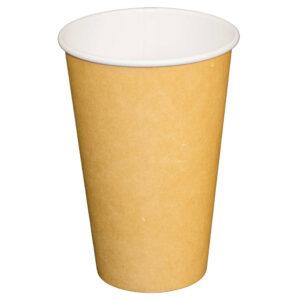 16oz Plain Kraft Paper Cup