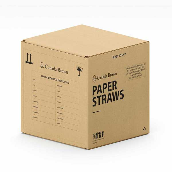 Paper Straws Box