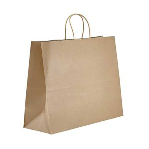 16 x 6 x 12 Kraft Twisted Handle Paper Bags 250/Case
