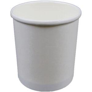 32oz Plain White Paper Food Container (500/CS)