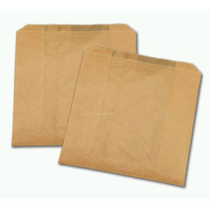 Natural Paper Sandwich Bag Enviro (1000/cs) 6 x .75 x 6.75