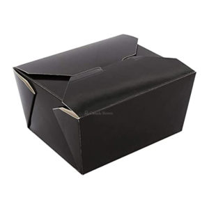 01BPBLACKMA 1OZ PAPER TAKE-OUT CONTAINER (450/CS)