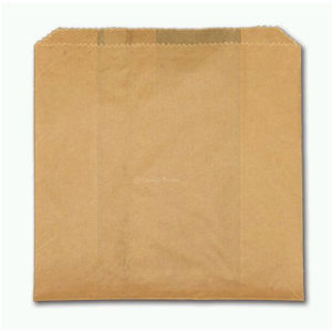 Natural Paper Greaseproof Sandwich Bag (1000/cs) 6 x 2 x 9