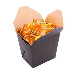 02BBLACKME 2OZ PAPER TAKE-OUT CONTAINER (200/CS)