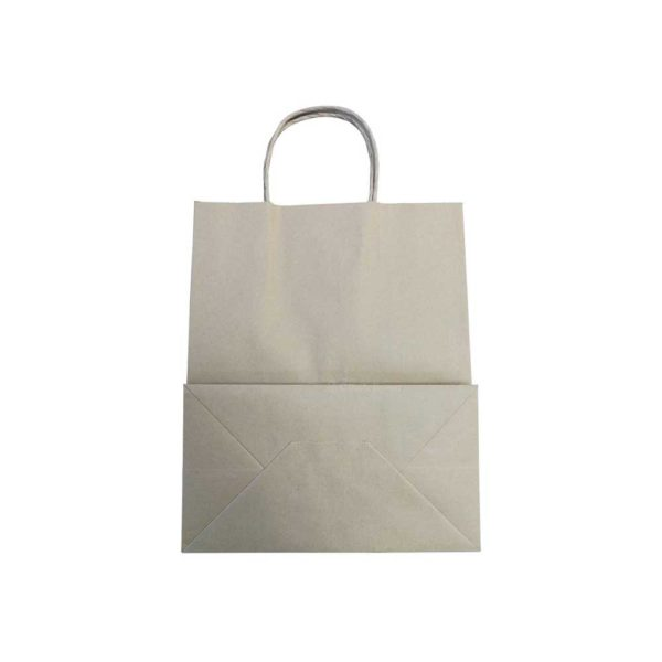 8 x 5 x 11 Kraft Twisted Paper Bags 200/Case