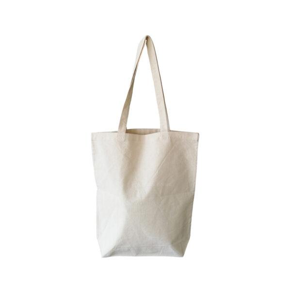 13.7 x 15.7 Natural 170GSM Cotton Reusable Bags