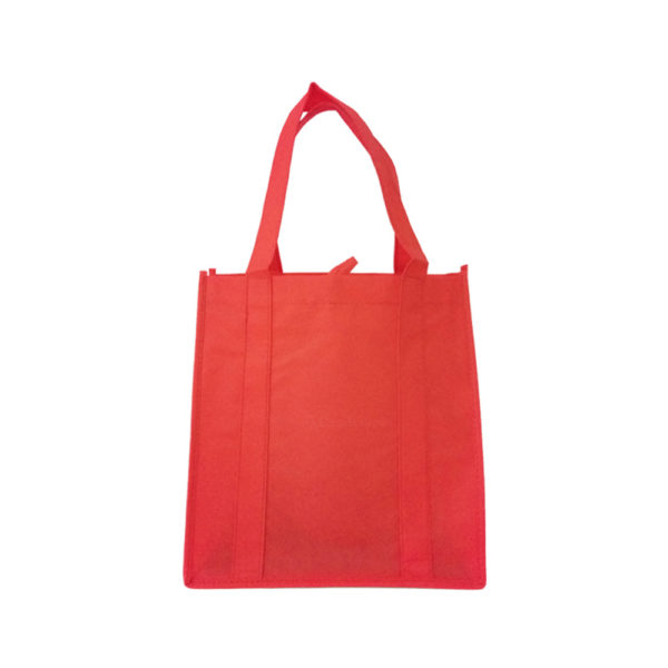 10 X 4 X 10 Red Non Woven Loop Handle Bags 25/Case
