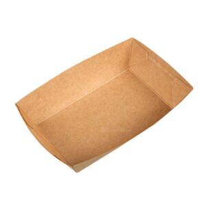 #6 Kraft Paper Food Tray