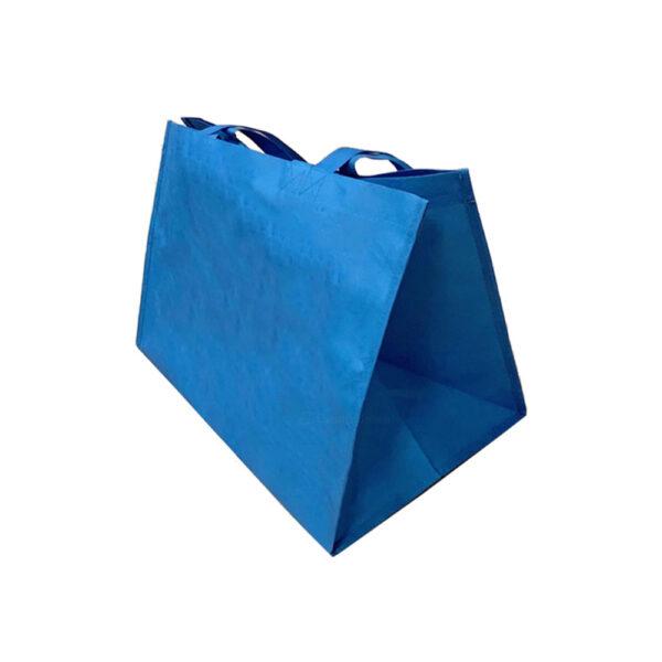 13 x 8.6 x 14.5 Non Woven 70GSM Grey Reusable Bags