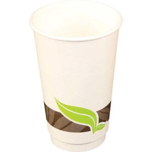 16oz Vista Double Wall Paper Hot Cup (400/Case)
