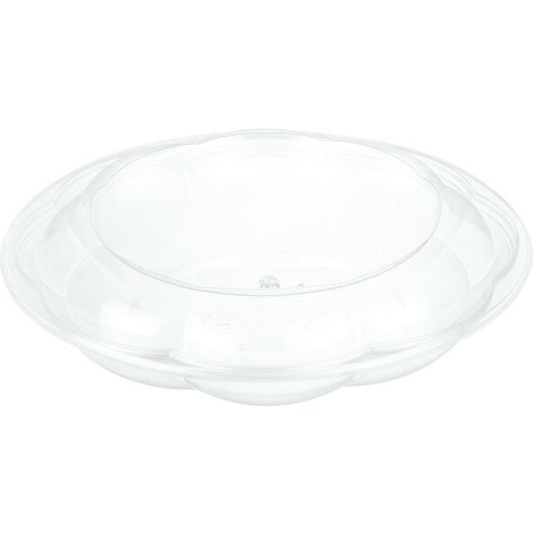 """40oz PET Rose Salad Bowl ( 10"""" ) Combo - Pack (100/CS)"""