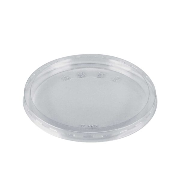 Flat Lid PET for 8oz to 32oz Round Deli Container (500/CS)
