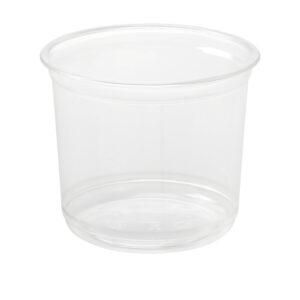 16oz PET Round Deli Container (500/CS)