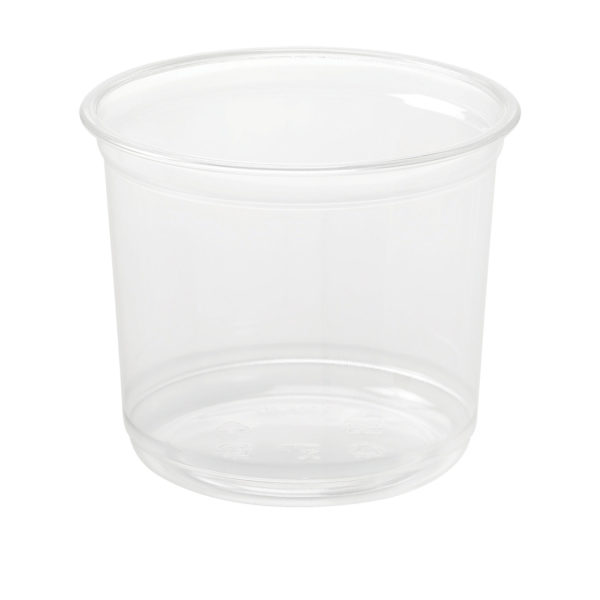 16oz PET Round Deli Container (500/CS)