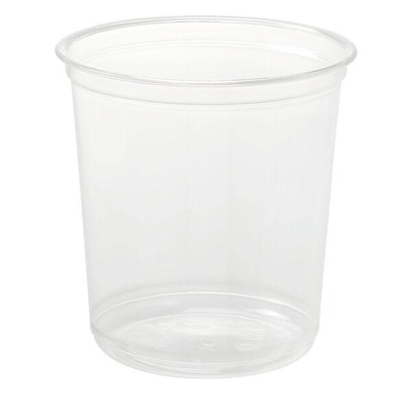 24oz PET Round Deli Container (500/CS)